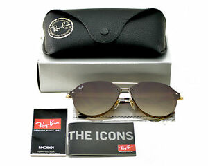 6a374886c5f Ray-Ban RB4292N Blaze Double Bridge 710 13 Tortoise Gold  Brown ...