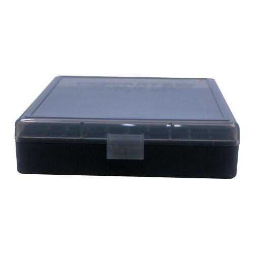 4 SMOKE BERRY/'S PLASTIC AMMO BOXES BLACK 100 RD 40 S/&W//45 ACP-FREE SHIPPING