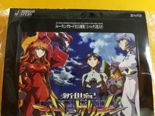 Bandai Carddass Masters Evangelion Neon Genesis TCG Box UnOpend 30 pack Japanese