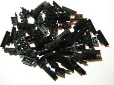 LEGO BULK LOT OF 50 BLACK BRACKETS 1X2-1X4 #2436