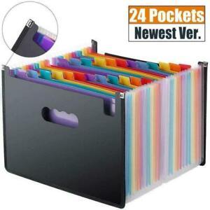 A6 File Organizer File Folder Supplies Portable Multicolor Color Folder CO