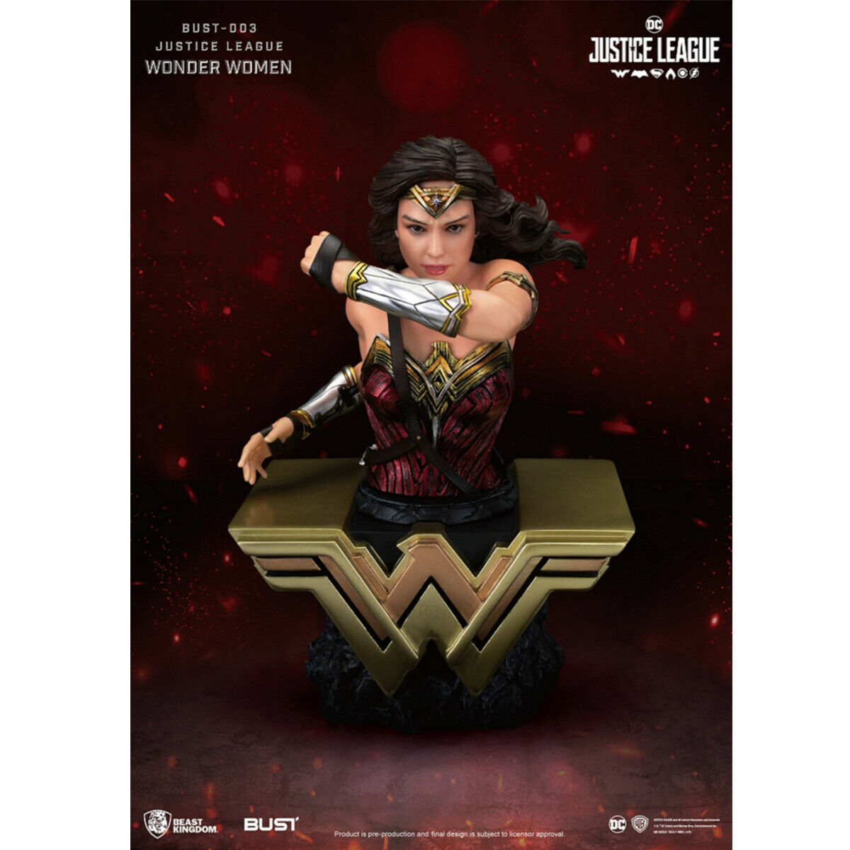 Beast redom autobust  003 Justice League Wonder donna azione cifra Statue nuovo