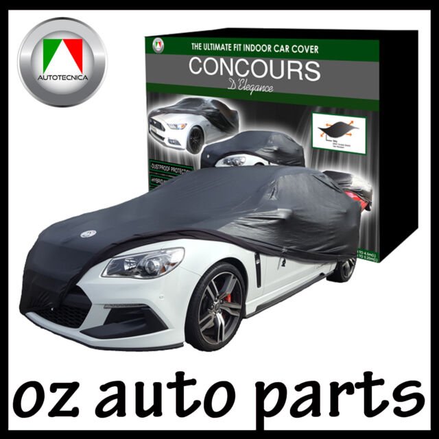 AUTOTECNICA CONCOURS D'ELEGANCE CAR COVER BLACK NON-SCRATCH UP TO 5.25M INDOOR
