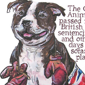Personalize-Staffordshire-Bull-Terrier-History-drawing-whimsical-art-print