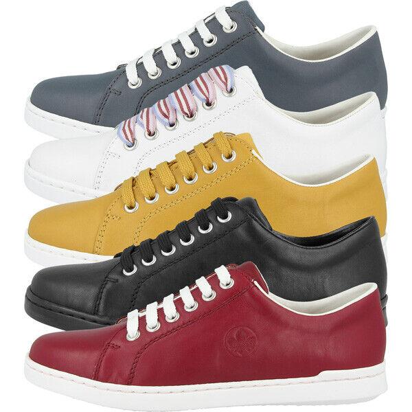 Neu RIEKER Damenschuhe Sneaker Halbschuhe Schnürschuhe Freizeit Schuhe Komfort