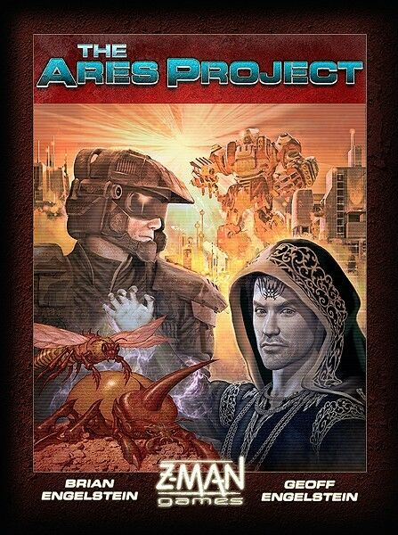 The Ares Project Board Game NEW - Z-man Games - SEALED