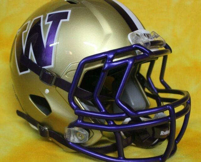 WASHINGTON HUSKIES NCAA Riddell SPEED Full Size Replica Football Helmet