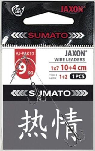 1x7 surfstrand Jaxon Sumato corkscrew wire stinger,lure wire,pike trace 1pcs