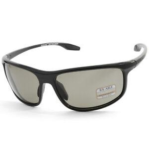 Serengeti-Ponza-8619-Shiny-Black-Grey-Polarised-Photochromatic-Men-039-s-Sunglasses