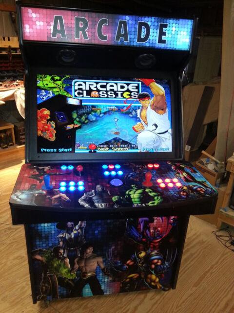 "2 Player 40"" LED Home Arcade Game MAME(TM) - ArcadesRFun Has Your Dream Arcade!"