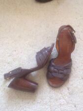 Zapatos De Cuero Chie Mihara Lila 37, 4