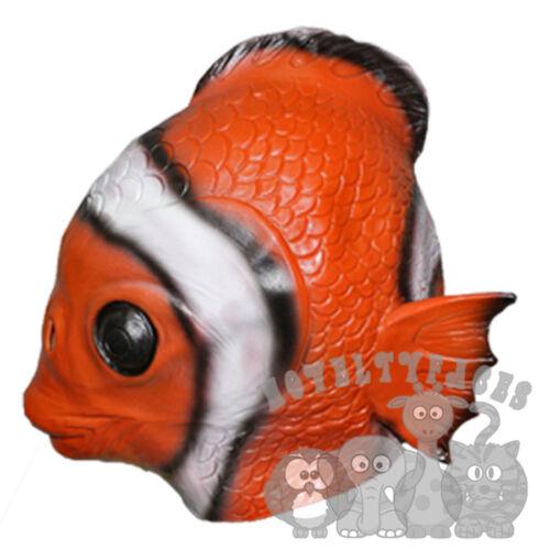 Latex Realistic Animal Dolphin Seal Otter Alligator Beaver Fish Fancy Dress Mask