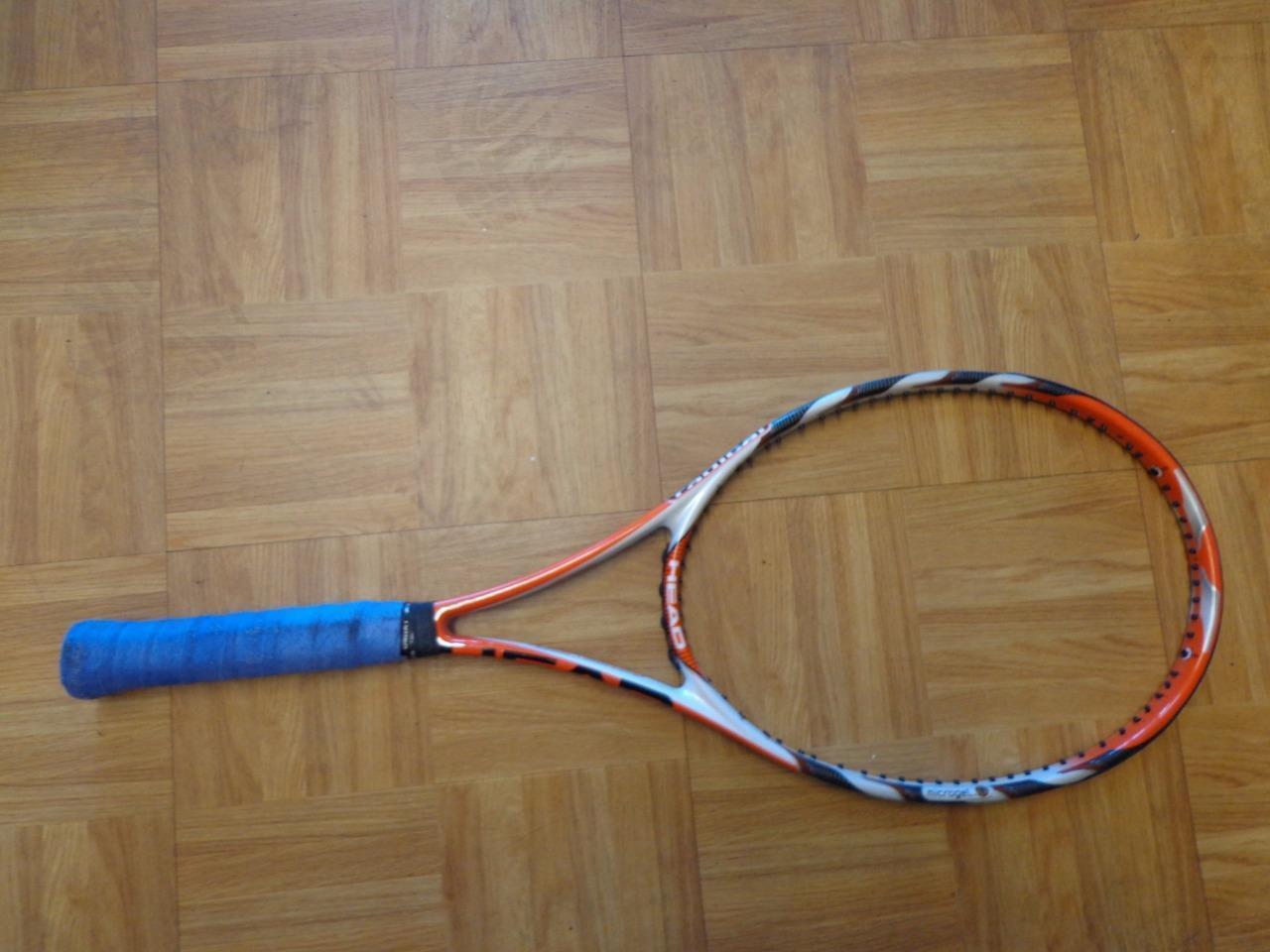 Head Microgel Radical Midplus 18x20 98 headsize 4 1 2 grip Tennis Racquet
