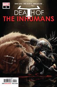 Death-of-the-Inhumans-5-Marvel-Comic-1st-Print-2018-unread-NM