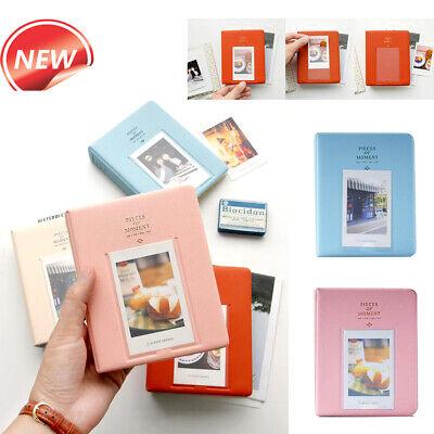 64Pockets Album Photo Book Storage Case for Fujifilm Instax Mini Photo Poladroid