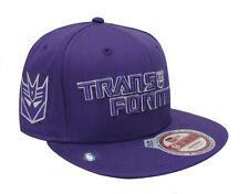 Transformer Decepticon New Era Monounder Snapback Cap Hat Purple