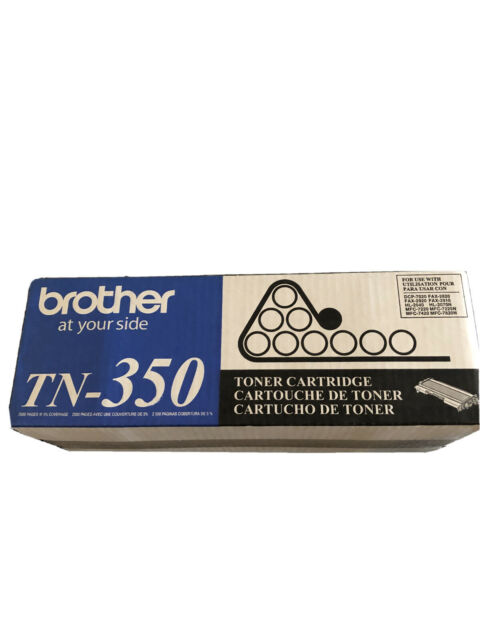 Brother TN350 2500 Pages Toner Cartridge Black
