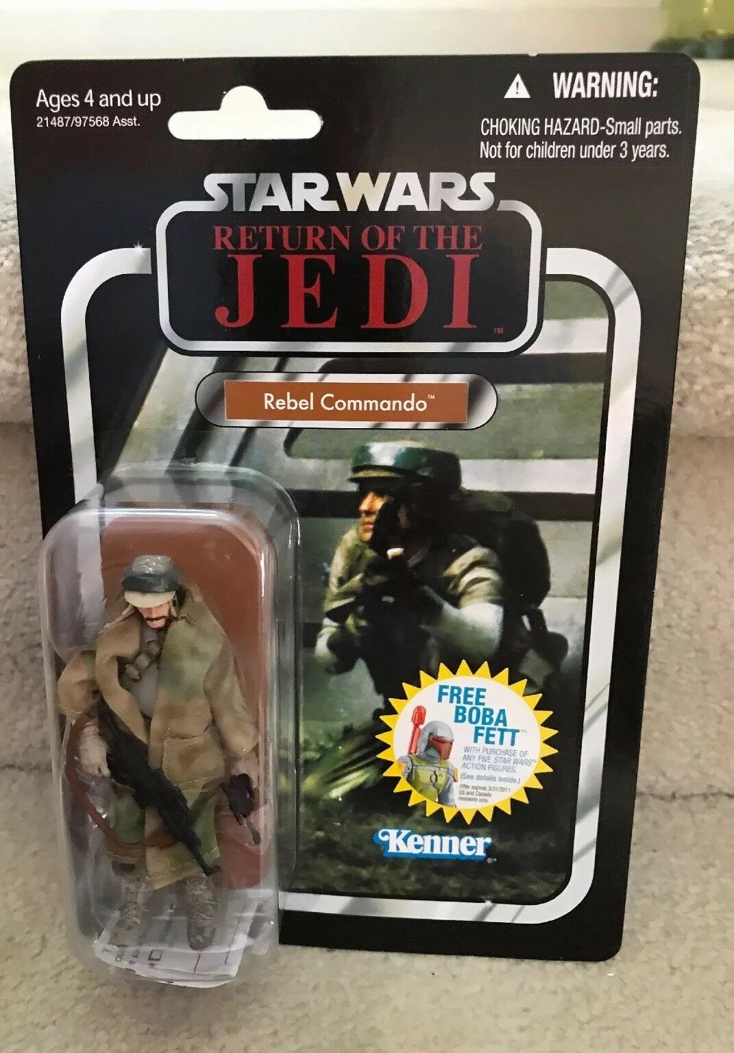 Star Wars The Vintage Collection REBEL COMMANDO Figure VC26 Revenge Unpunched