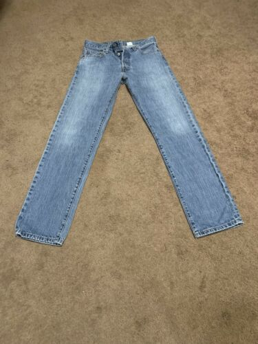 Vintage Levi's 501 Jeans 30x32 15501-0574 Red Tab