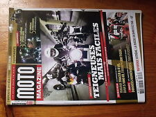 $$ Revue Moto Magazine N°313 BMW R12 Russie  Cameras embarquees  Ducati Monster
