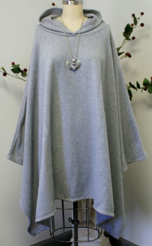 Absolutely New Fleece Hooded a Full Size 5xl adatta Versatile Travelers Poncho si AdwqZdxr