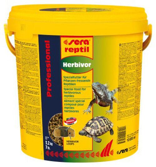 Sera reptil Professional Herbivor für Pflanzenfressende Reptilien (1 x x x 10 Liter) 26a3b2