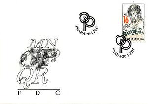Republique-tcheque-2017-fdc-oldrich-posmurny-tradition-de-timbres-design-1v-set-cover