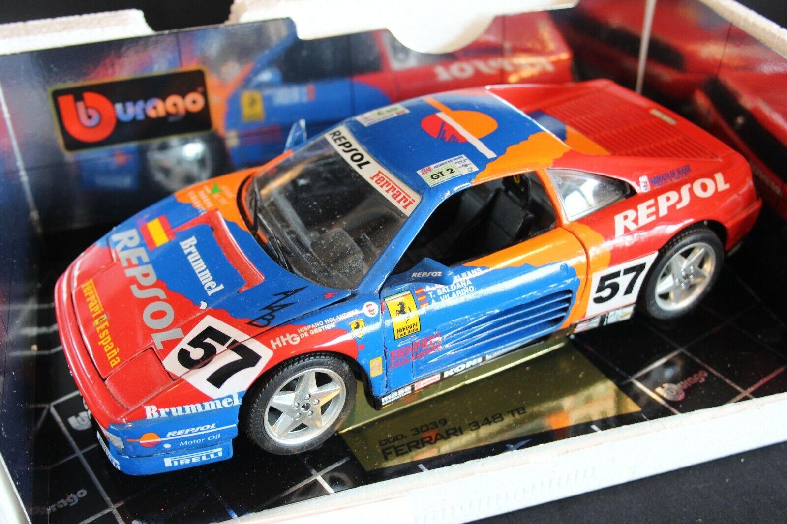 Bburago Ferrari 348 GTC-LM 1994 1 18  57 Orléans   Saldaña   Vilarino LM (PJBB)