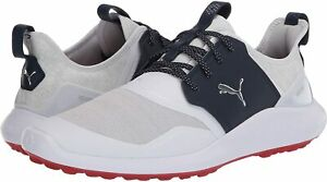 Puma-Mens-192225-Fabric-Low-Top-Lace-Up-Running-Sneaker-Silver-Size-12-0-uJHT