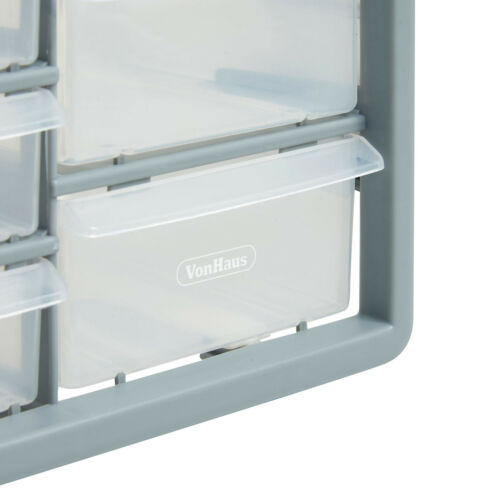 Organizador De Piezas vonhaus 30 cajón gabinete casa garaje herramienta de hazlo tú mismo Caja Caso