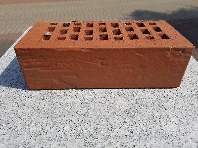 Mauerklinker Stedum Rot 240x115x71 Mm Unbenutzt 50 Stück Jade Weiß Fassade