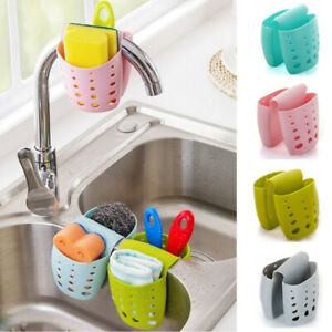 Kitchen-Sink-Saddle-Double-Silicone-Sponge-Holder-Sink-Rack-Storage-Organizer