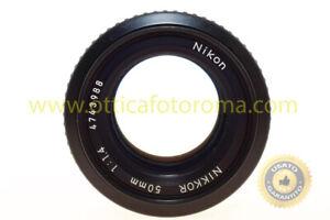 Obiettivo-nikon-AI-50mm-f-1-4-manuale