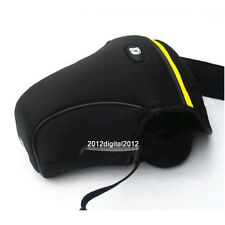Neoprene Soft Camera Case Bag For Nikon D5100 D5200 D3200 D3100 D3000 D60 D40 M