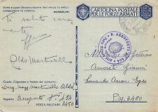 C4287) WW2 AVIAZIONE BOLLO DEL R. AEROPORTO N° 454 SAN VITO DEI NORMANNI.