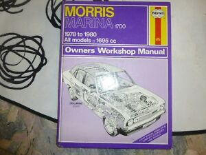 Haynes-Owners-Workshop-Manual-Morris-Marina-1978-1980