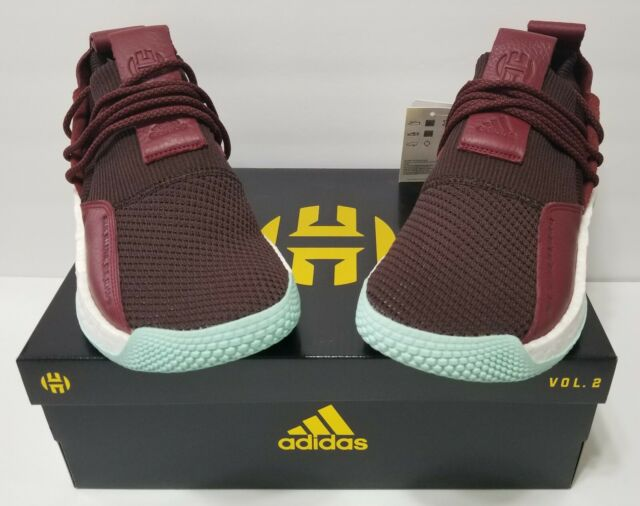 d1f5500a441 adidas Performance James Harden LS 2 Lace Basketball CG6277 Maroon ...