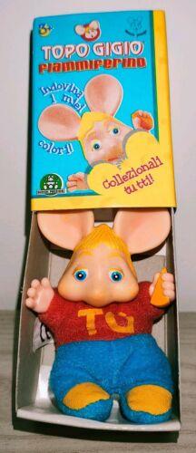 Topo Gigio Fiammiferino Pupazzo Giochi Preziosi Maria Perego vintage toys plush
