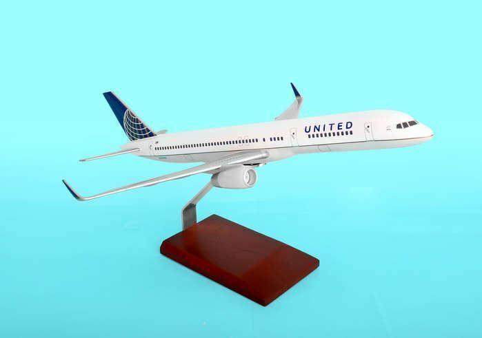 Executive Series United 757-200 1 100 Envío Continental Merger Nuevo G39010