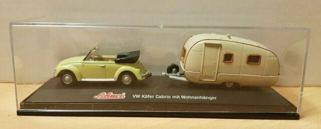Schuco junior line VW Beetle convertible crema 1:43 Schuco nuevo /& OVP 3316339