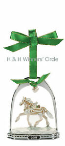 Breyer-700308-Noelle-Holiday-Stirrup-Christmas-Horse-Ornament-NIB
