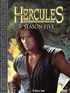Hercules-The-Legendary-Journeys-Season-5-DVD-2005-9-Disc-Set