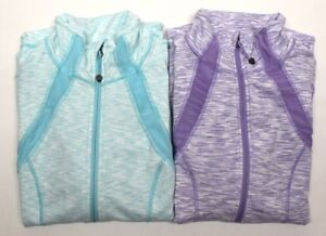 Activewear Jackets Constructive Tangerine Women's Heather Insert Mesh Active Jacket Variety Size/color Nwt Online Shop