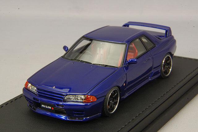 1 43 Hpi IG Encendido Nissan R32 GT-R S-Tune blu IG0925