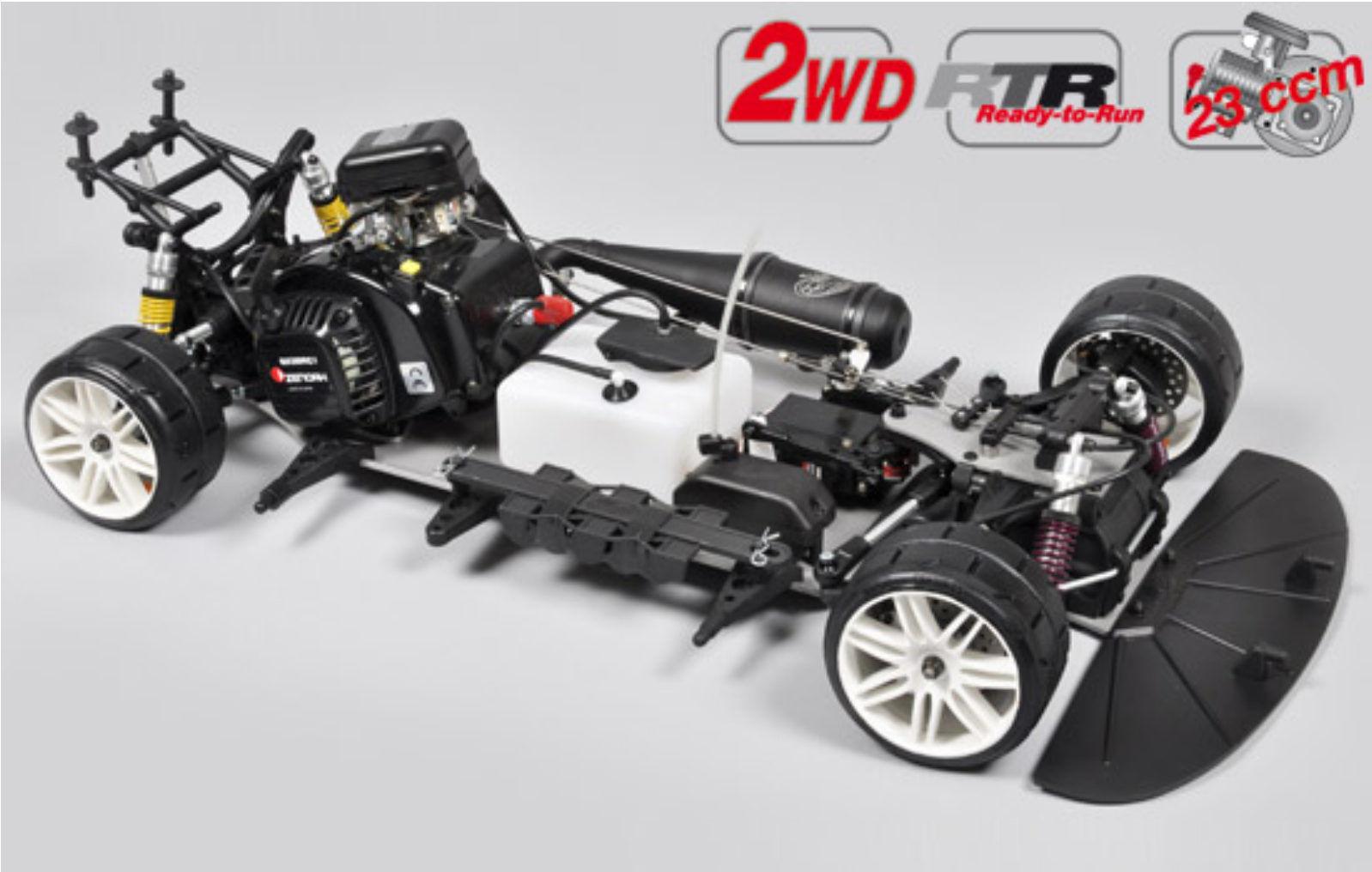 FG modelo Sport r 2 WD 530 chasis con bmw m3 carrocería 23 ccm rtr