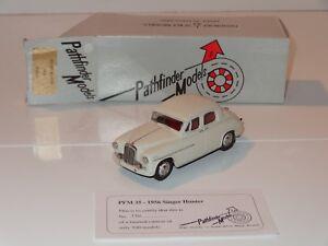 (eb) Pathfinder En Métal Blanc 1956 Singer Hunter-pfm 35-afficher Le Titre D'origine