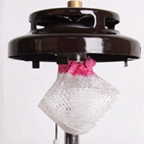 10pcs//Set Gauze Mesh Camping Gas Lantern Mantles Light Lamp Cover Tools Gifts