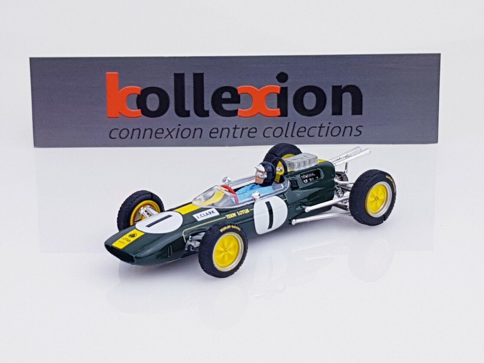 BRUMM S08 26 LOTUS 25 n°1 Winner British GP 1964 Jim Clark 1.43 NB