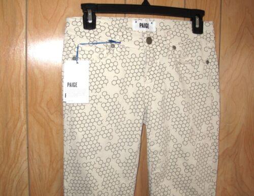 Paige 25 Usa Co Jeans Denim Skinny Junior Taglia Ultra 00 189 Verdugo Nwt w4qxCA