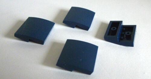 4 x LEGO® 15068 Gewölbte Steine 2X2X2//3 earth blue wie auf dem Foto gebraucht.